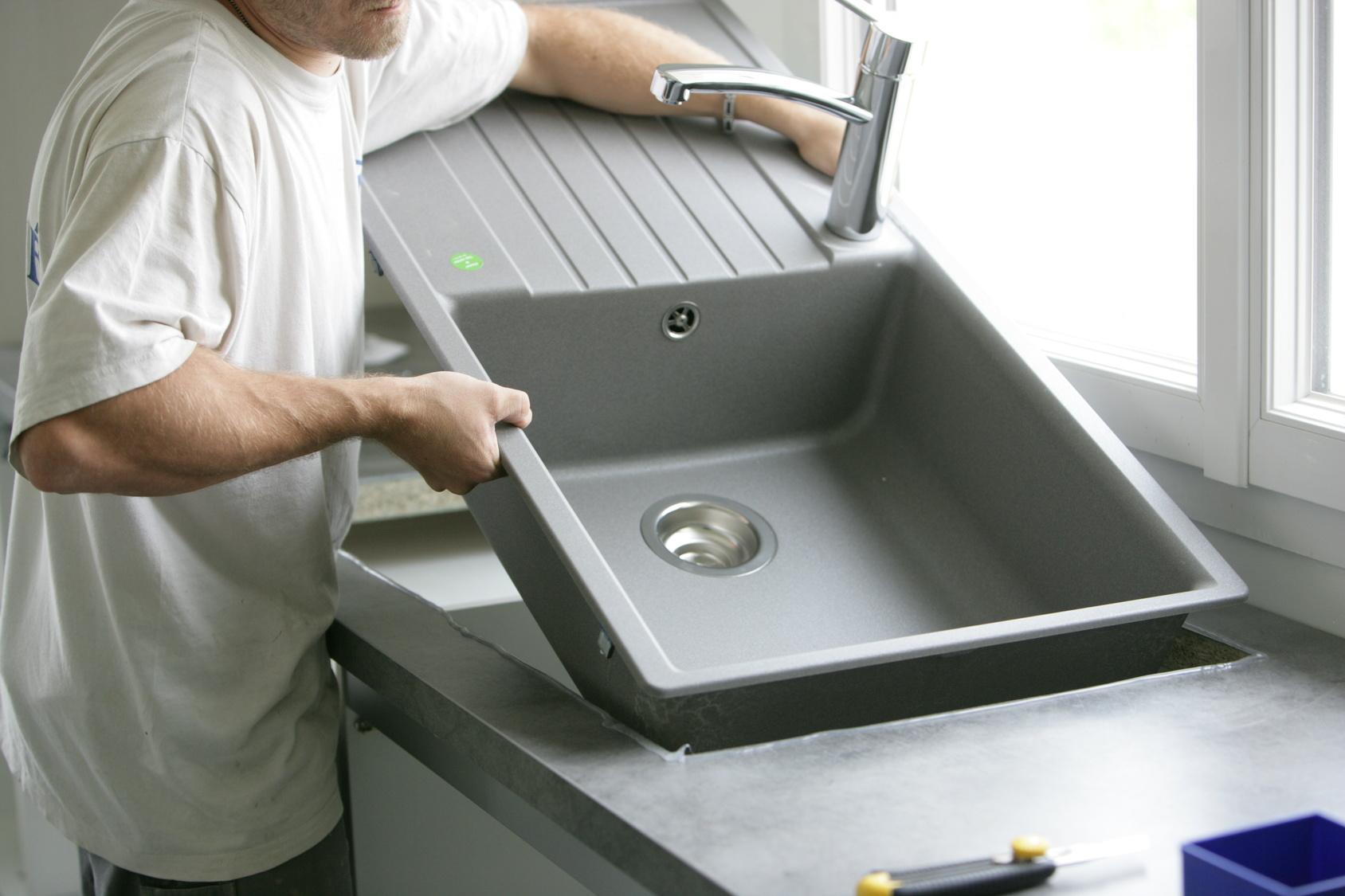 Evier Pour Cuisine D Été comment poser un évier de cuisine ? - blog bricolage